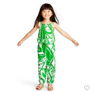 2T Lilly Pulitzer Girl Boom Boom Jumpsuit